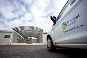 Dorset Council Van