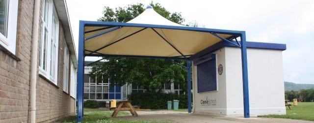 Food Kiosk Tepee Canopy