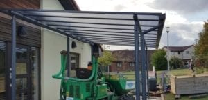 Playground canopy we designed for Inverbrothock Primary School