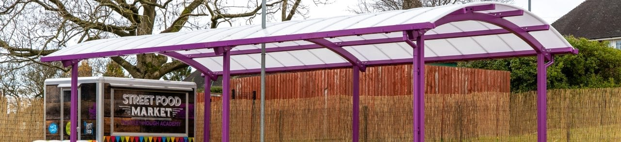 Thistley Hough Academy Dining Canopy