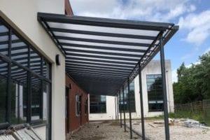 Playground shelter we designed for New Bridge School