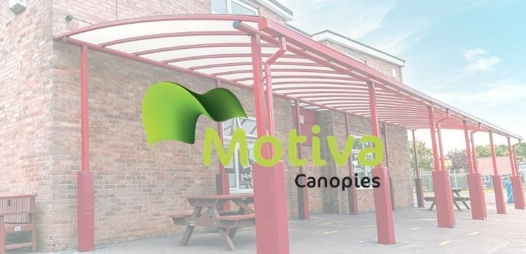 Curved Roof Playground Canopy