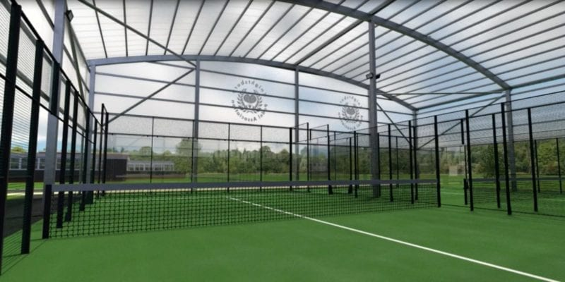 Covered Padel Court