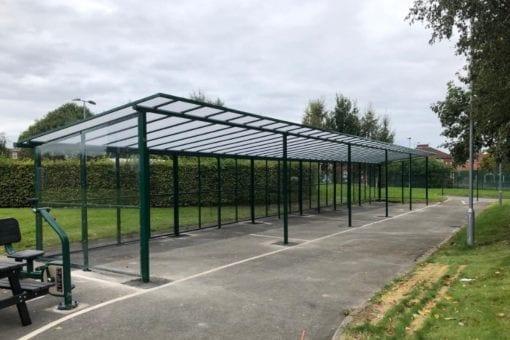 Playground canopy we made for Droylsden Academy