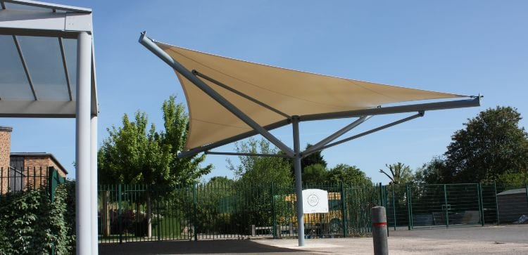 Shelter we made for Green Park Primary School