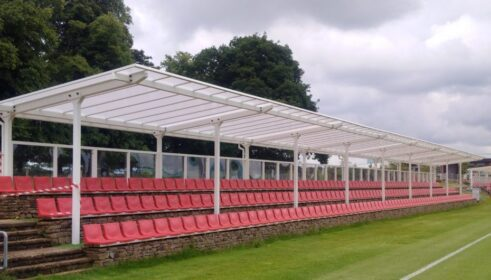 Football Seating Shelter