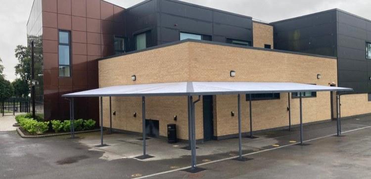 Hessle High School Bespoke Canopy