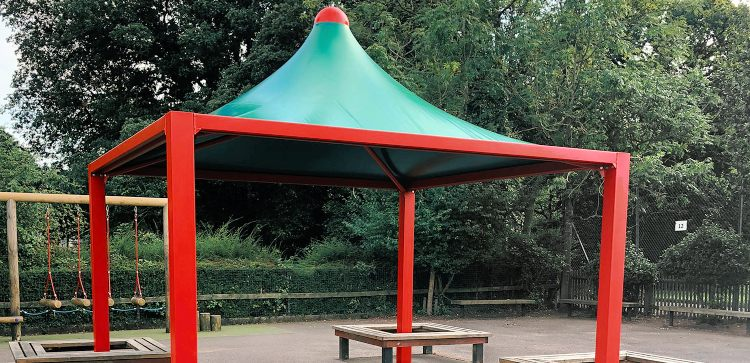 Kingsnorth Primary School Tepee Canopy