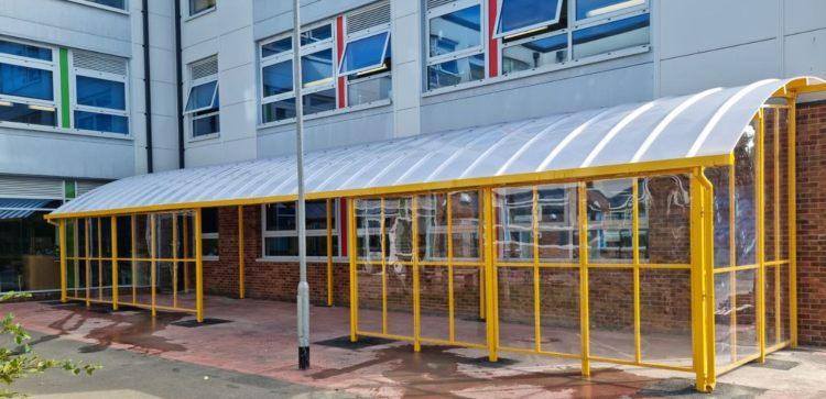 Ryde Academy Outdoor Shelter
