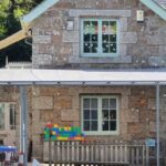 Playground shelter we designed for St Levan Primary School