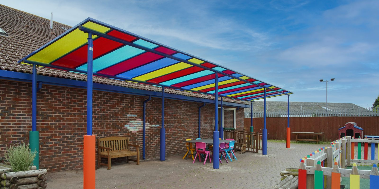 The Spring Trust Colourful Canopy