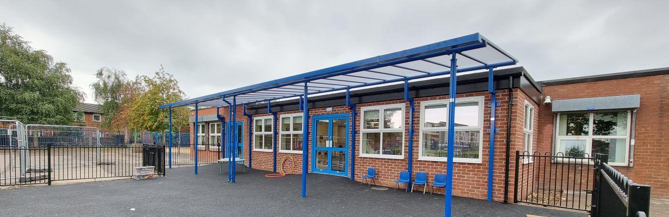 St Alphonsus Primary School Playground Canopy